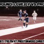 Area Round Friday Night vs. Prosper