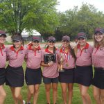 Lovejoy High School Girls Varsity Golf finishes 2nd place