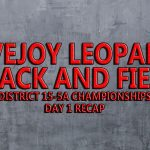 Leopards grab lead on Day 1 of District 15-5A Track and Field Championships