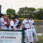 Lovejoy High School Varsity Baseball beat North Forney High School 4-0