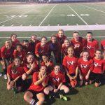 8th Grade Girls Soccer Win 3-1
