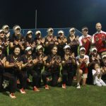 Lovejoy High School Varsity Softball beat Sulphur Springs High School 12-4
