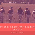 Boys XC Preseason Ranked #1