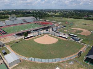 Softball Facility – Drone, Courtesy of Mike Motsney