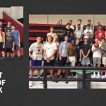 Lovejoy Basketball Hard Hat Winners: Stout & Weaver