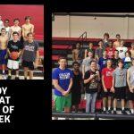 Hard Hat Players of the Week: Trey Martelloni, Kyle Olson, & Joe Celania