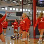 2017 volleyball action shots preseason