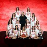 Lovejoy High School Girls Freshman Basketball JV Red beat Sherman High School 32-24