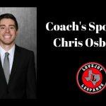 Coach's Spotlight:  Chris Osborne