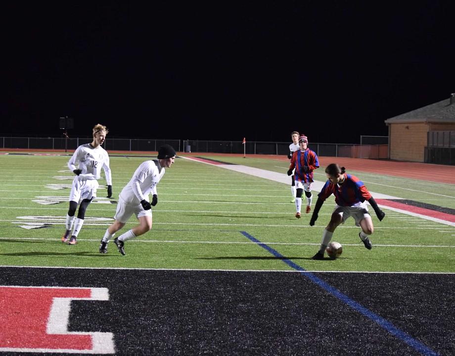 Boys Soccer Alumni Game