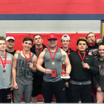 Boys Varsity Powerlifting finishes 2nd place at Fort Worth Castleberry