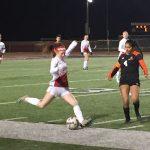 Girls Varsity Soccer beats Mesquite Poteet 5 – 4