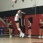 JV Volleyball wins over Wylie East Raiders