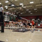 Varsity Volleyball beats Prosper in Playoff Warm Up Match
