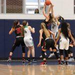 Girls Varsity Basketball beats Eaton 50-37