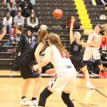 Girls Varsity Basketball falls to Hebron in The Colony Tournament