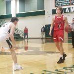 Boys Varsity Basketball beats Lake Highlands 53 – 43