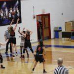 Girls Varsity Basketball beats Bastrop 55 – 35