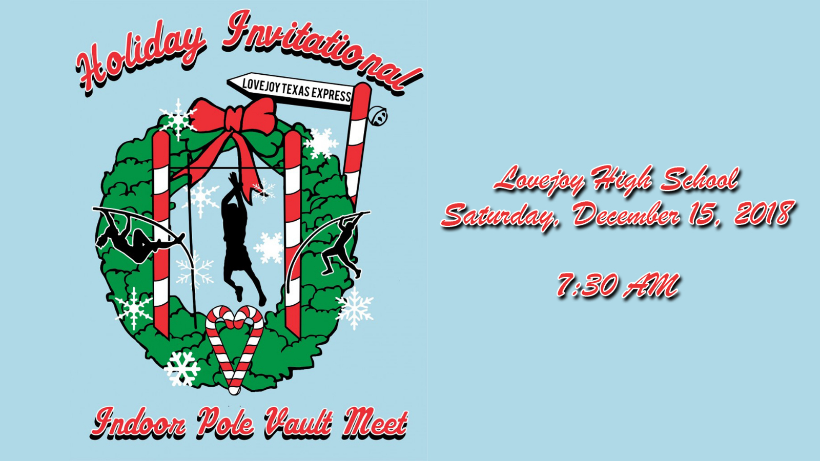 Holiday Invitational Indoor Pole Vault Meet set for Saturday