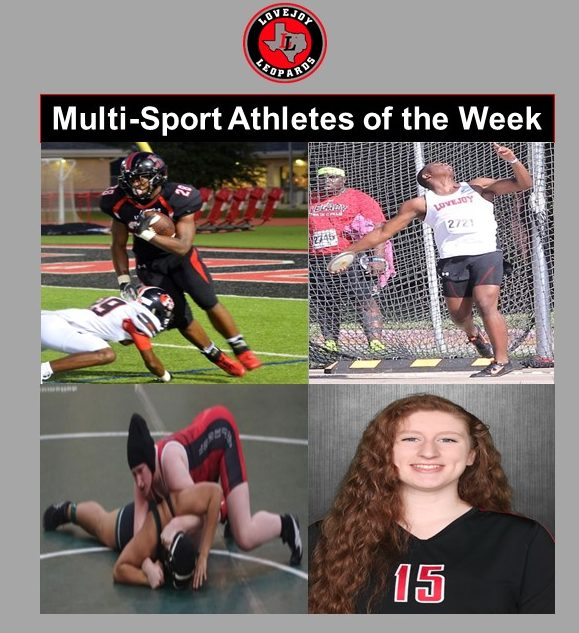 Lovejoy Athletic Department Multi-Sport Athletes of the Week Dec. 17 – Morgan Elvin & Jahi Rainey