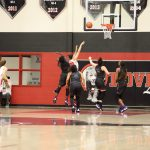 Girls Varsity Basketball falls to Wylie East 43-34