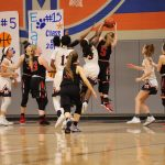 Girls Varsity Basketball falls to Mckinney North 50 – 48