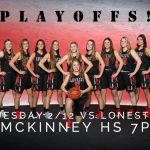 First Round Of Playoffs This Tuesday
