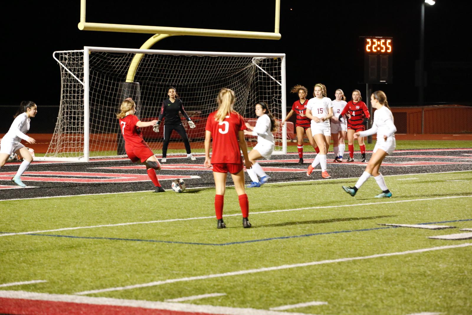 Girls Soccer Beat Princeton Wednesday Night