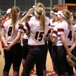 Varsity Softball Loses a Close One to Mt. Pleasant