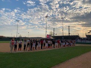 Varsity Softball Shuts Out Wylie East on Teacher Appreciation Night