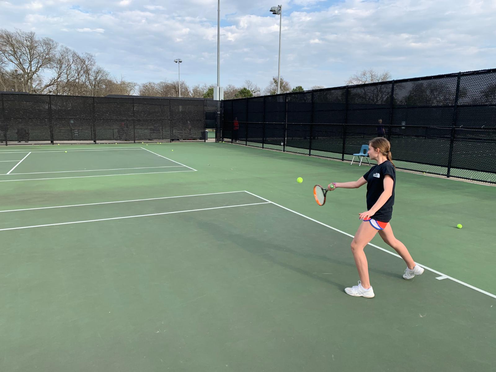 Willow Springs Tennis Beats Rockwall Cain 25-3