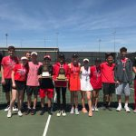 Varsity Tennis wins Spring District Title