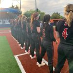 Varsity Softball Comes Up Short Against McKinney North 5-9