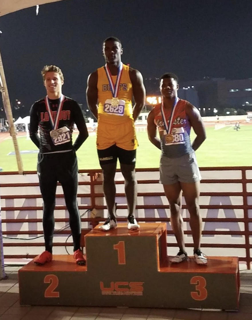 Ryan Gordon Runner-up at UIL 5A State Track and Field Championship