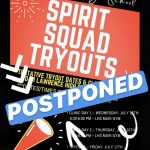LHS Spirit Squad Tryouts POSTPONED