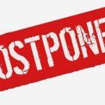 Postponements & Changes: Week of April 26