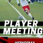 Boys Soccer – Player Meeting 4/14