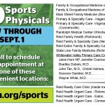 $10.00 Sports Physicals by Reid Health