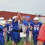 Junior High Football falls to Monroe Central 18 – 8