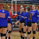 Varsity Volleyball falls to seton Catholic in the Sectional Championship 3 – 1