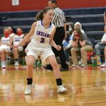Livingston's second double double can't lift the Indians past Tipton