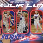 Skylie Lutz joins the 1000 Point Club
