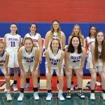 Girls Junior Varsity Basketball falls to the Falcons