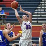 Girls Varsity Basketball beats Bluffton 52 – 51