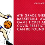 2/4/21 6th Grade Girls' Basketball at Driver Middle School – Ticket and Fan Information