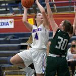 Girls Varsity Basketball finishes regular season with a win over Hagerstown 52 – 39