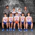 Boys 8th Grade Basketball falls to Monroe Central 43 – 30 in County Championship