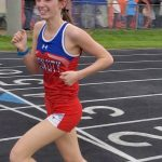 Indian girls run season best times at the County Meet
