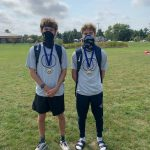 XC Golden Eagles O'Blenis and Winger Medal at New Haven Classic