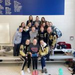 Girls Varsity Swimming & Diving WIN Jay County Invite